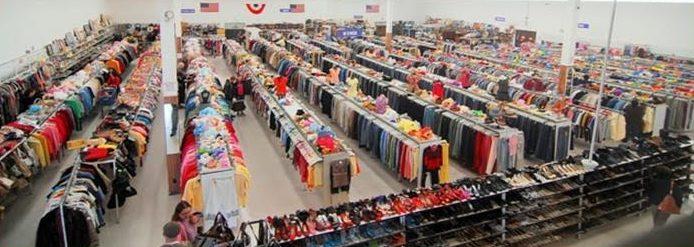 ABQ Family Thrift Center inside